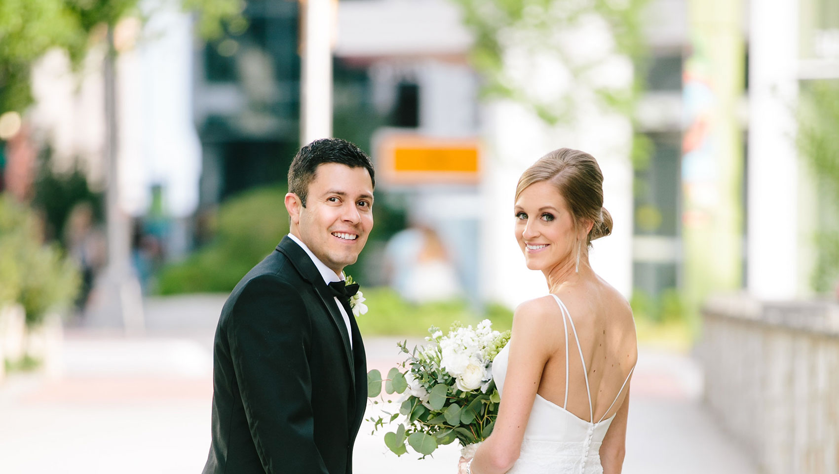 The Kimpton Brice Hotel wedding ceremony